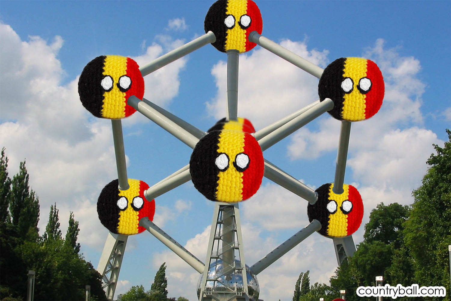 The Atomium of Beligumballs