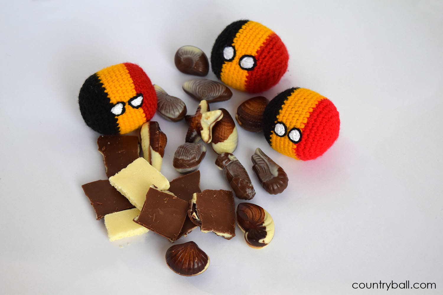 Belgiumball Loves Chocolate