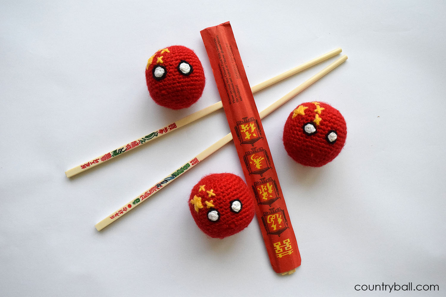 Chinaball using Chopsticks