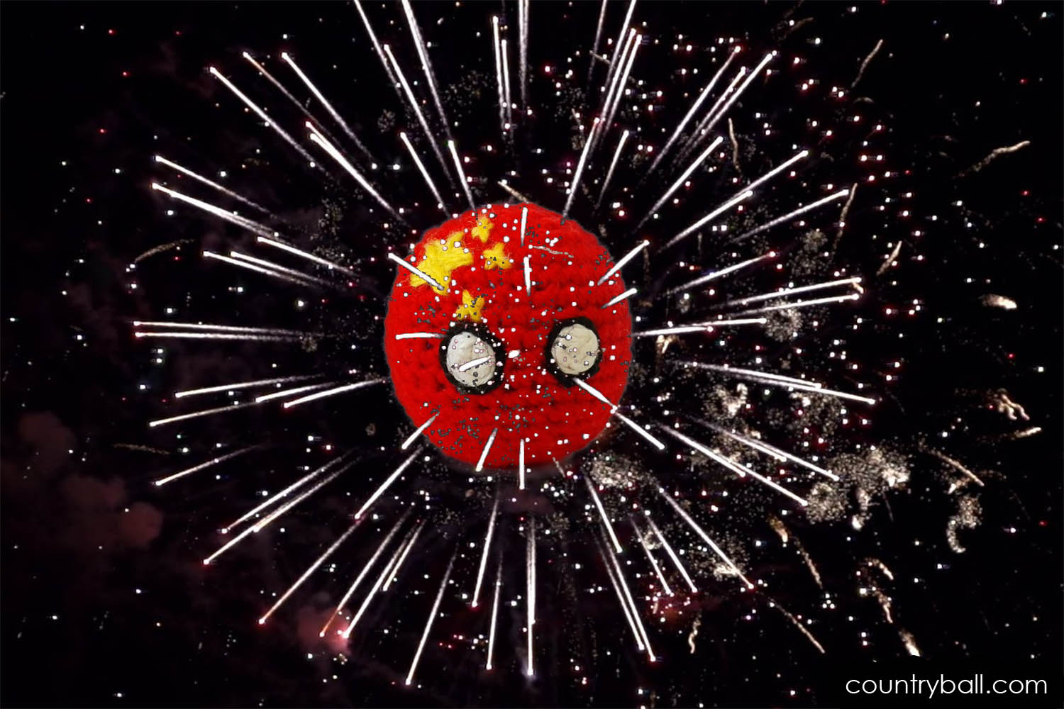 Chinaball with Fireworks