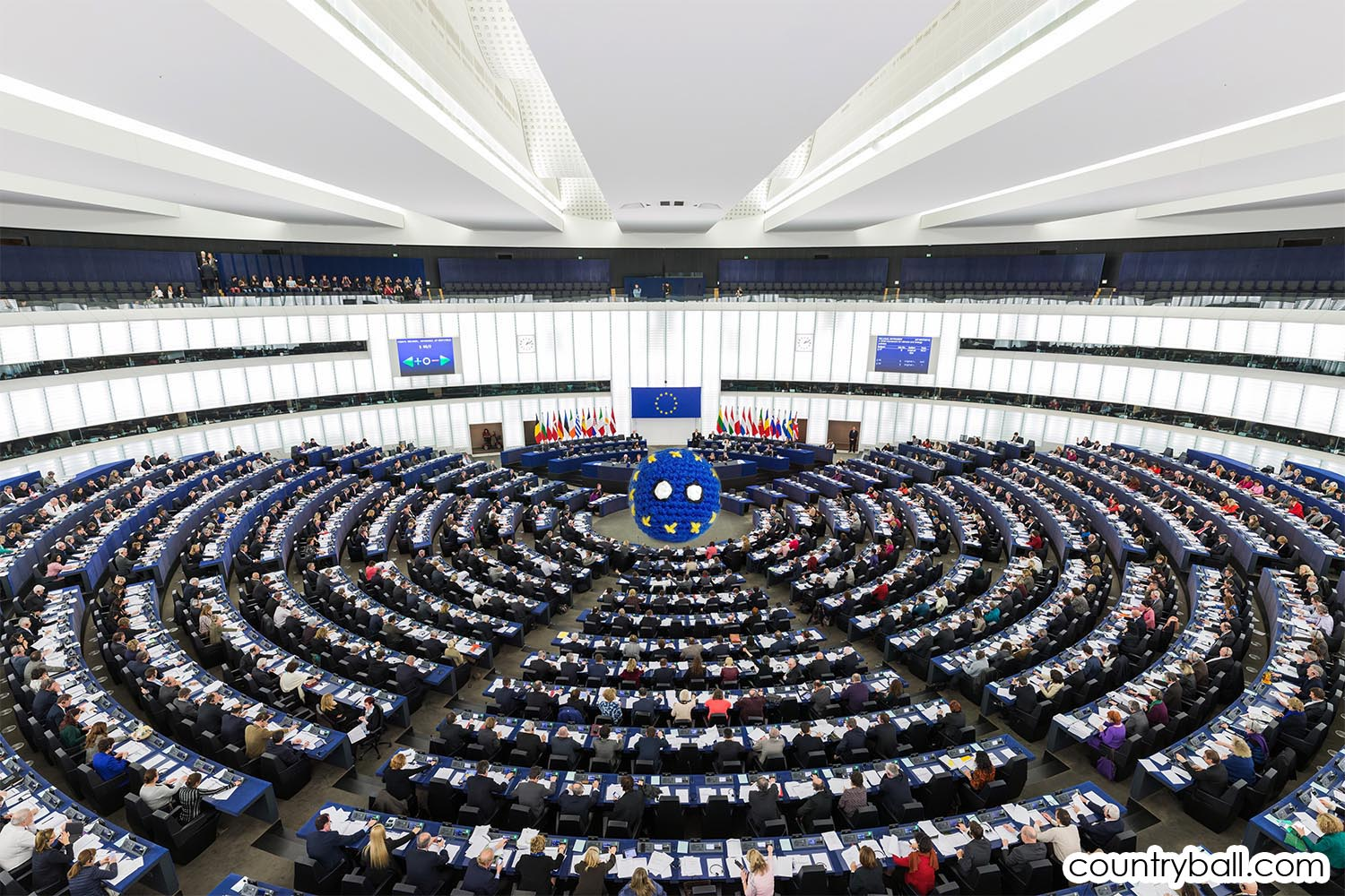 EUBall in the European Parlament