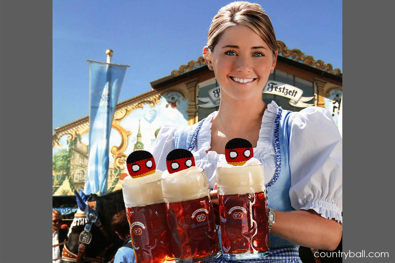 Germanyballs at Oktoberfest