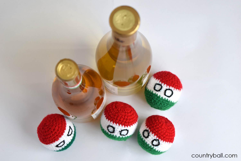 Hungaryball Loves Wine
