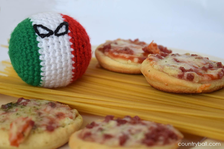 Italyball Guarding His Spaghetti