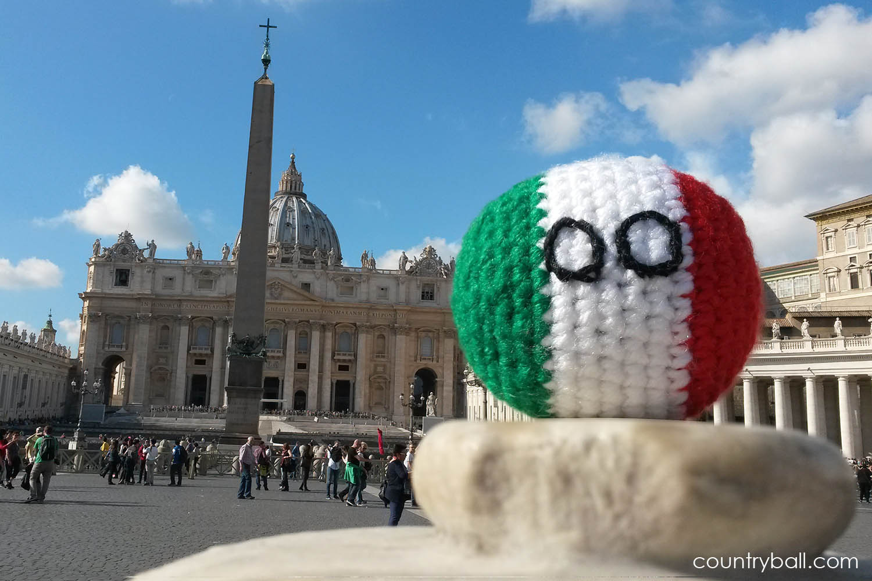 Italyball at the Vatican