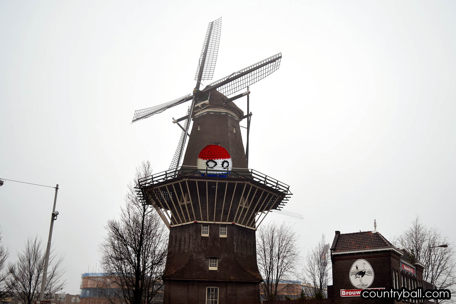 A Windmill with Netherlandsball