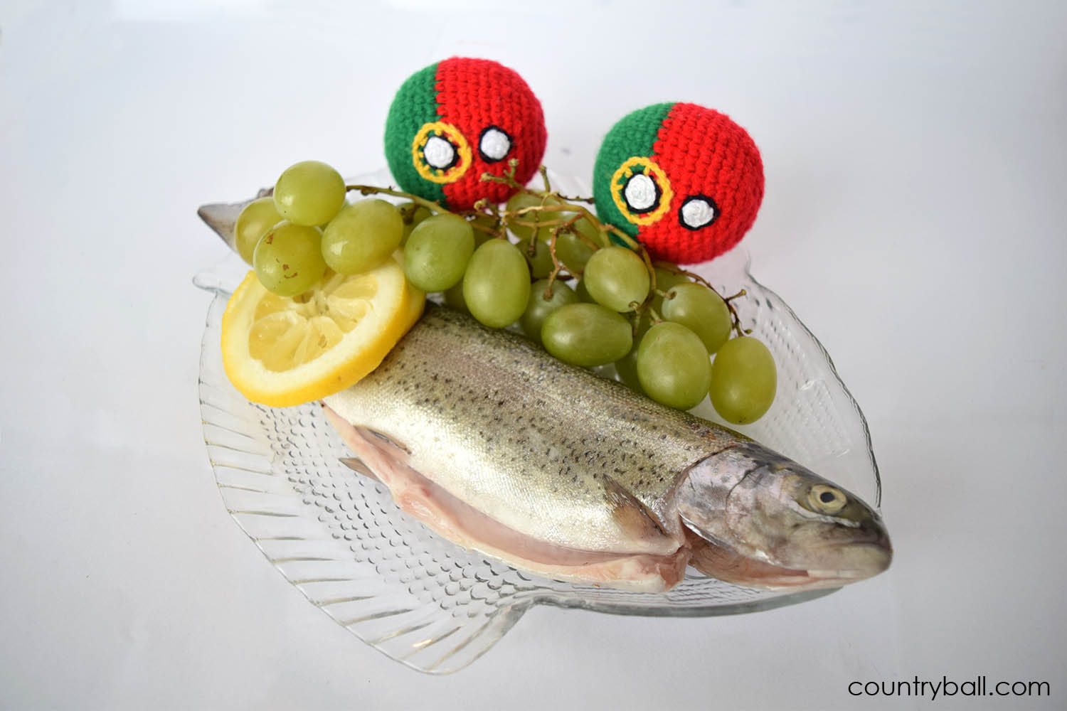 Portugalball can't Wait to Eat Fish