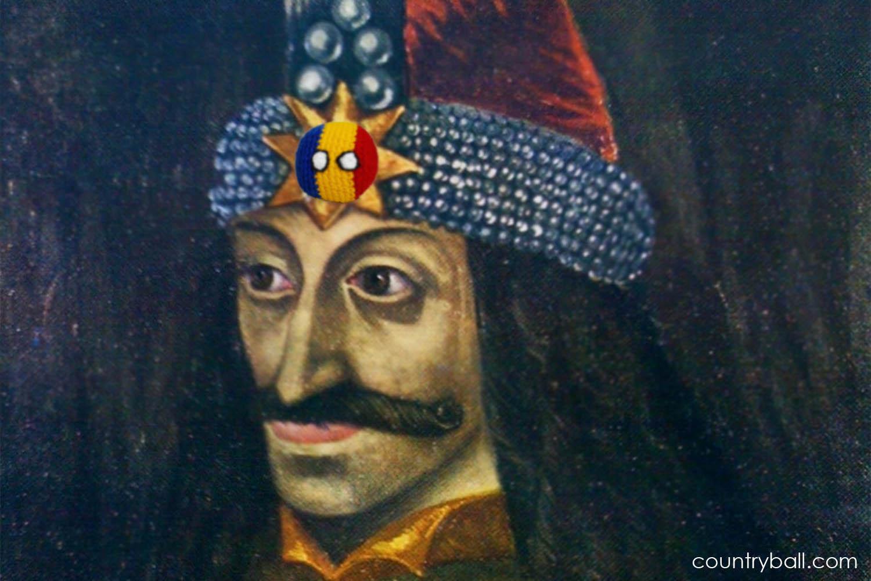 Vlad Romaniaball Dracula