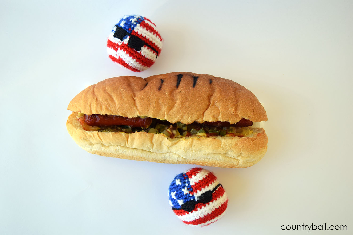 USABall and a delicious Hot Dog