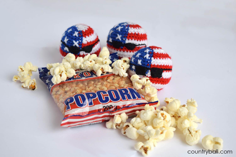 USABall Eats Popcorn All the Time