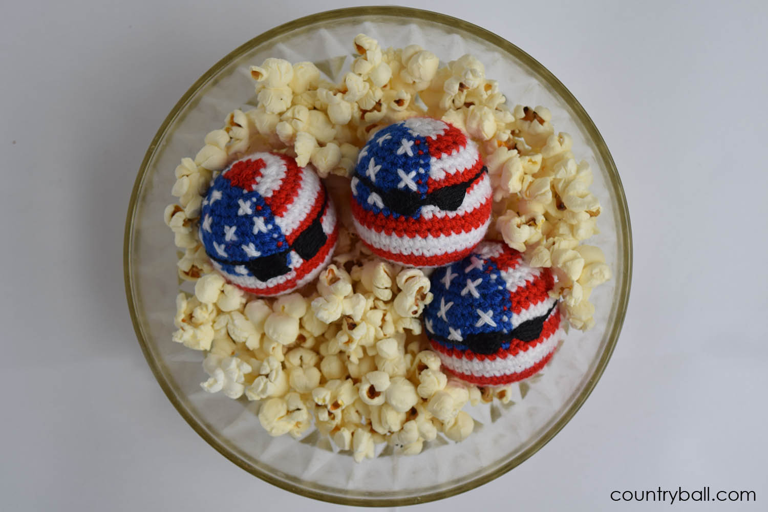 USABall Diving in a Cup of Popcorn