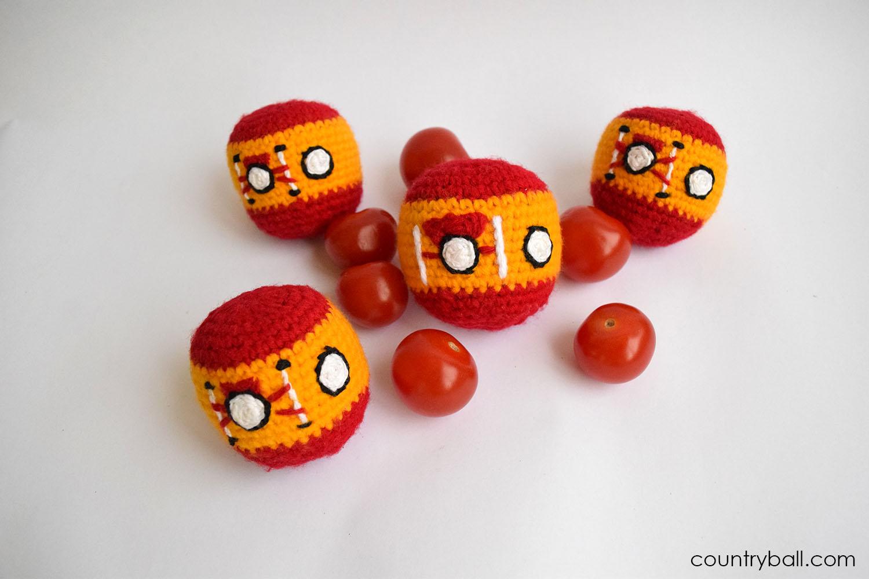Spainballs preparing for La Tomatina