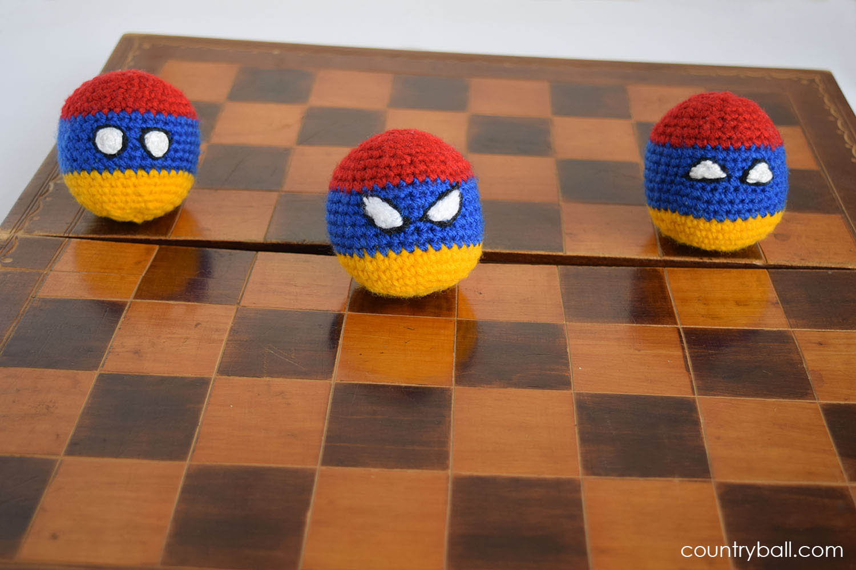Armeniaball Playing Chess