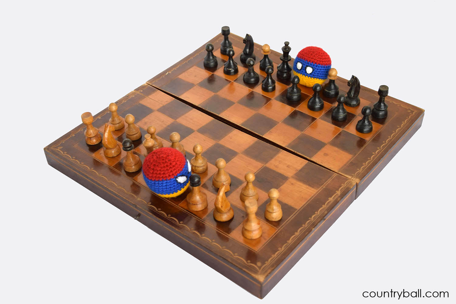 Armeniaball Playing Chess