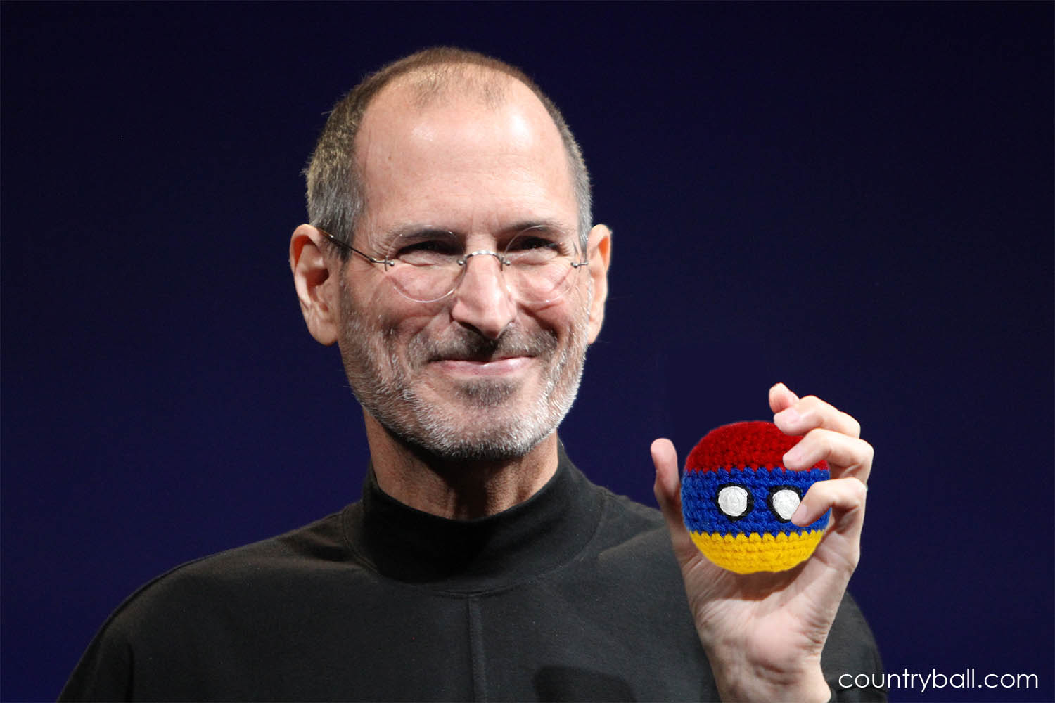 Steve Jobs with his Armeniaball
