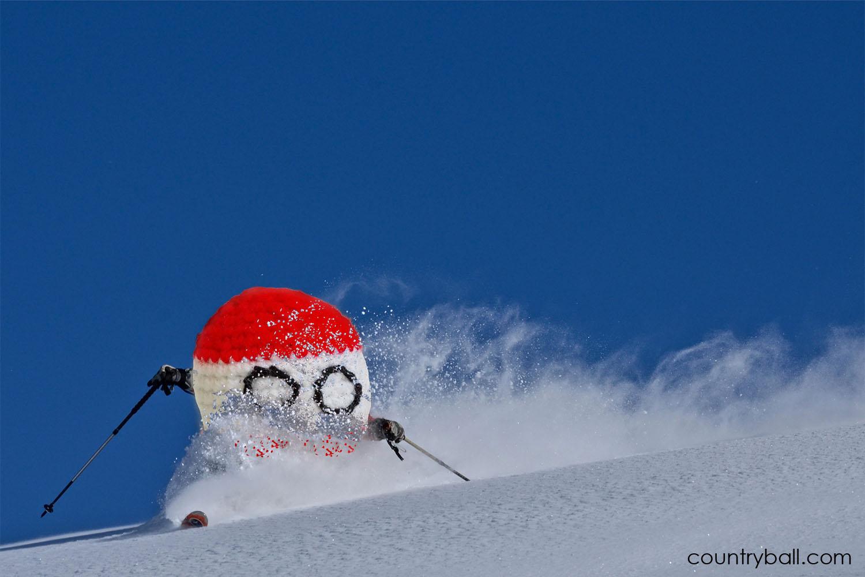 Skiing Austriaball