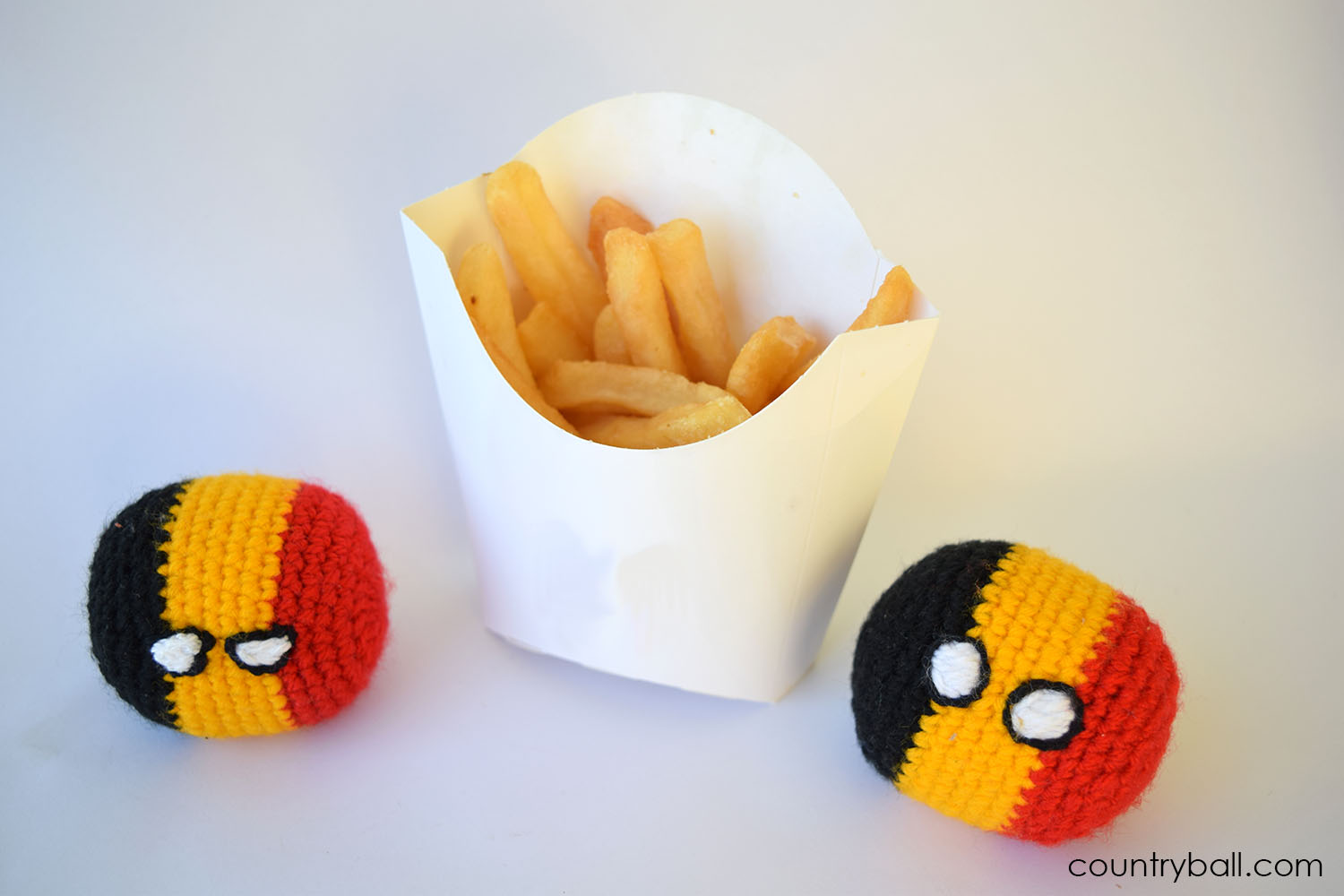 Belgiumball, the inventor of French Fries