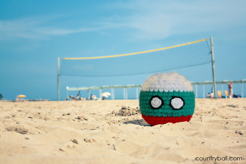 Bulgariaball on the Beach