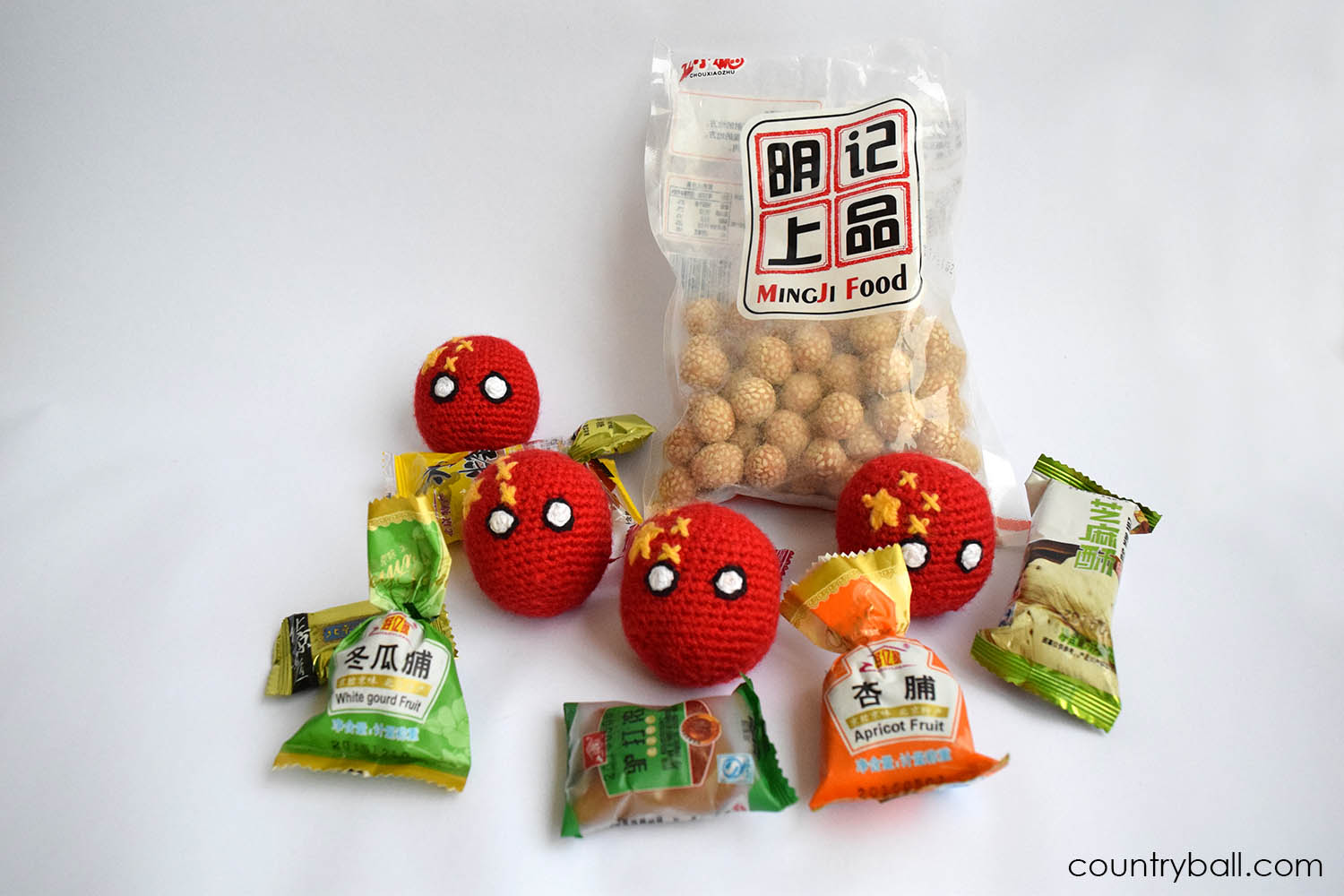 Chinaball with some Chinese Sweets