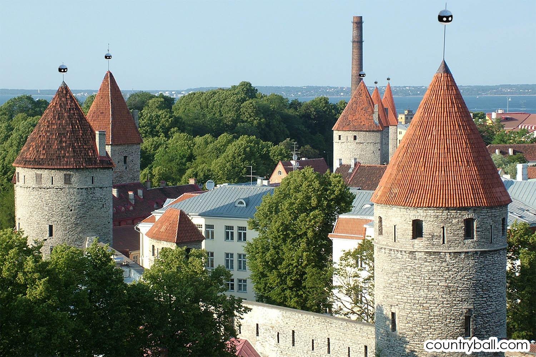 The Old Town of Tallinn