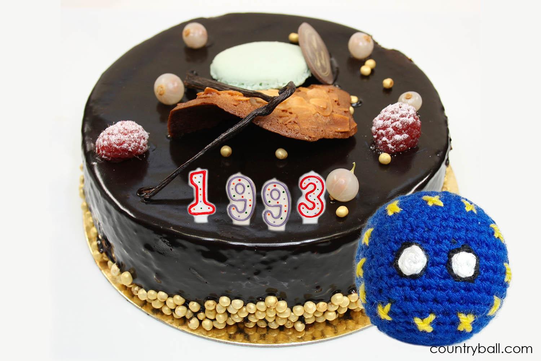 EUBall celebrating its Birthday