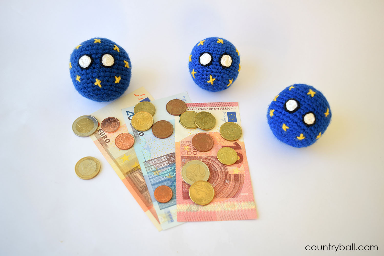 EUBall with the precious Euro