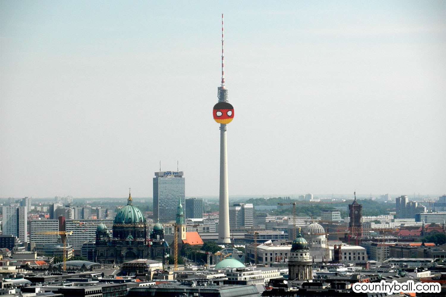 The TV Tower in Berlin