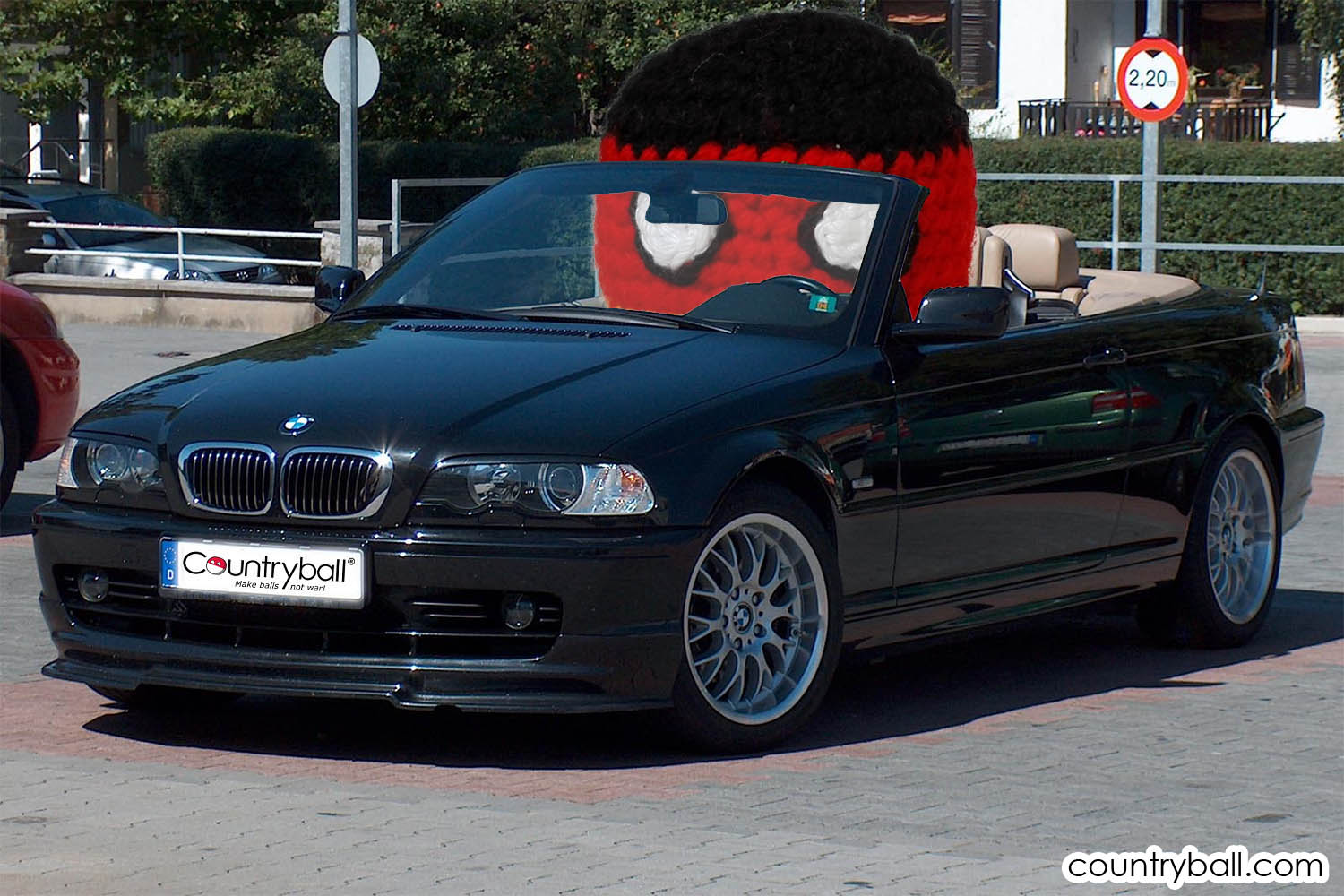 Germanyball is proud of his BMW