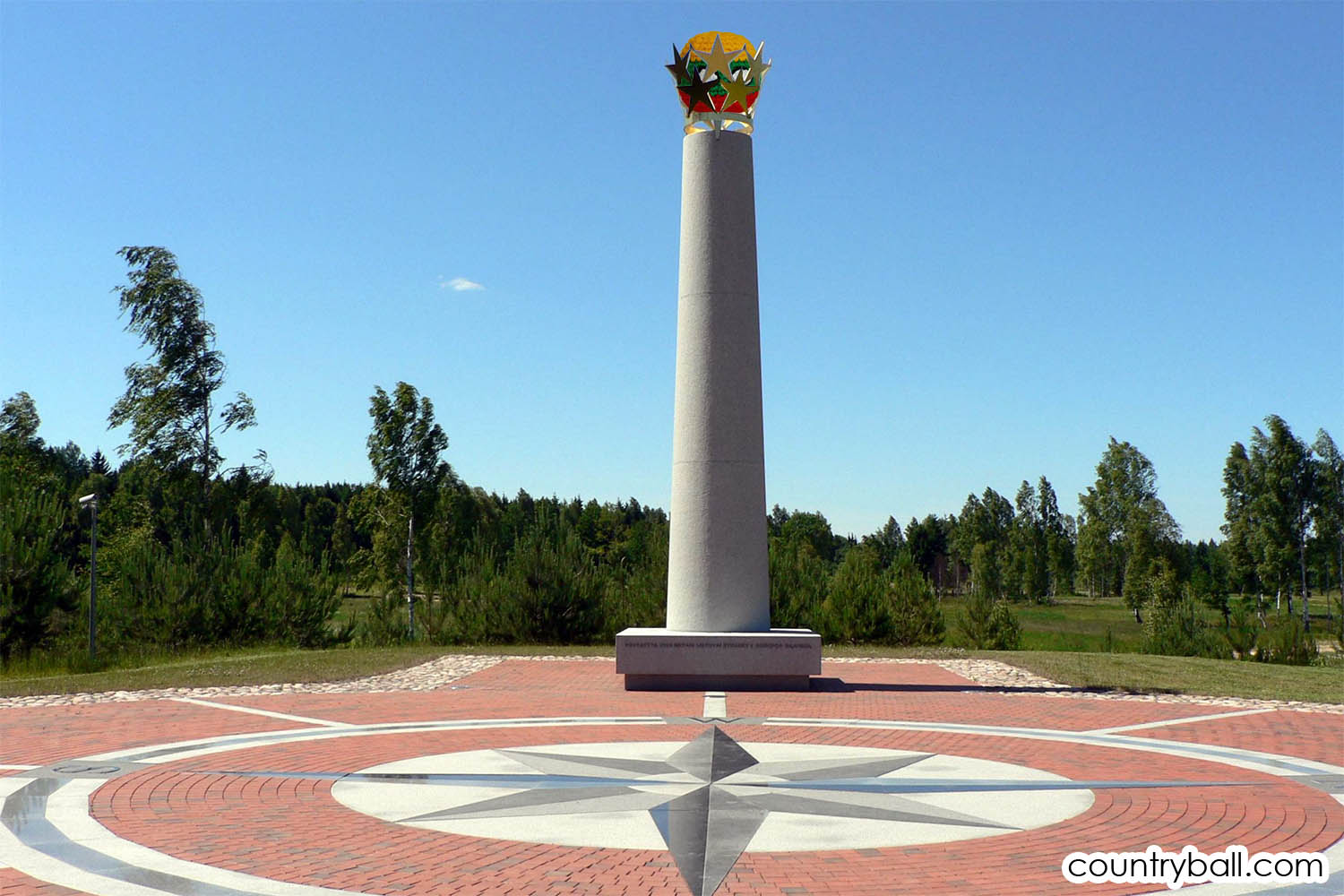 The Geographical Center of Europe