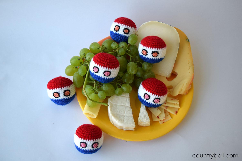 Netherlandsball loves Cheese
