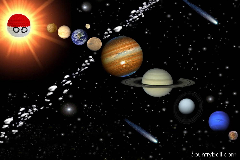 Polandball, the Center of the Universe