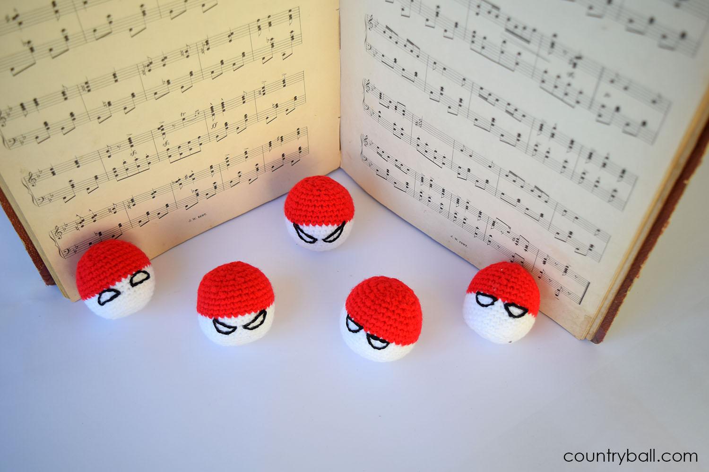 Polandball and a Partiture of Chopin