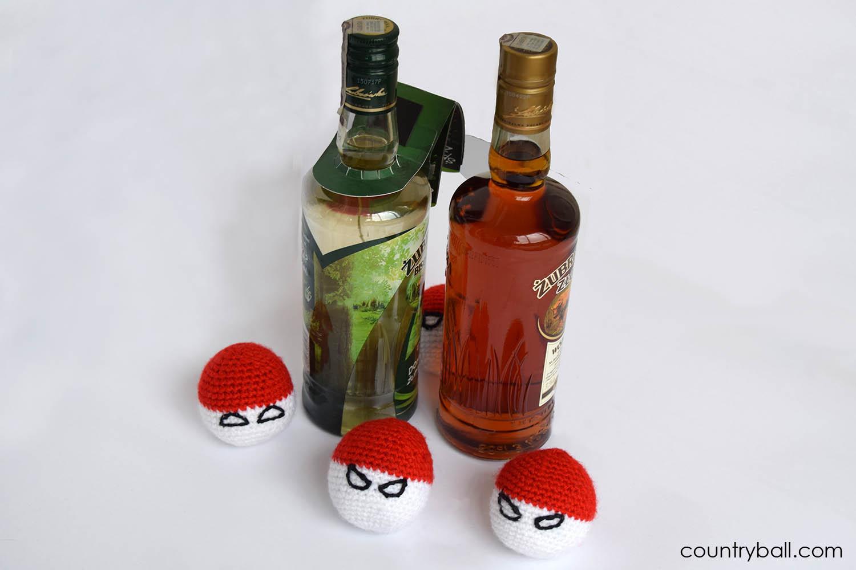 Polandball Likes Polish Vodka