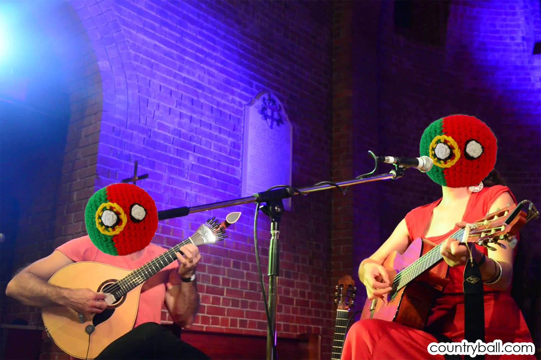 Fado music playing Portugalballs