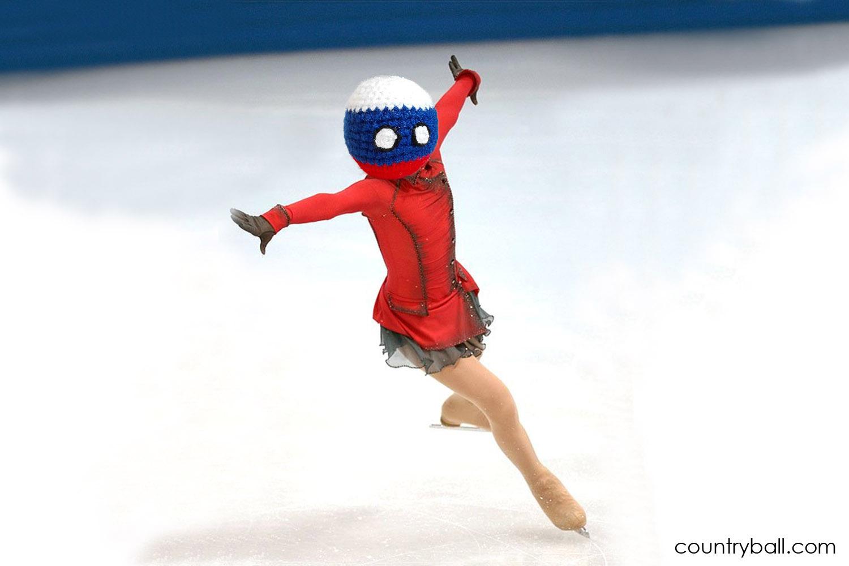 Ice Skating Russiaball