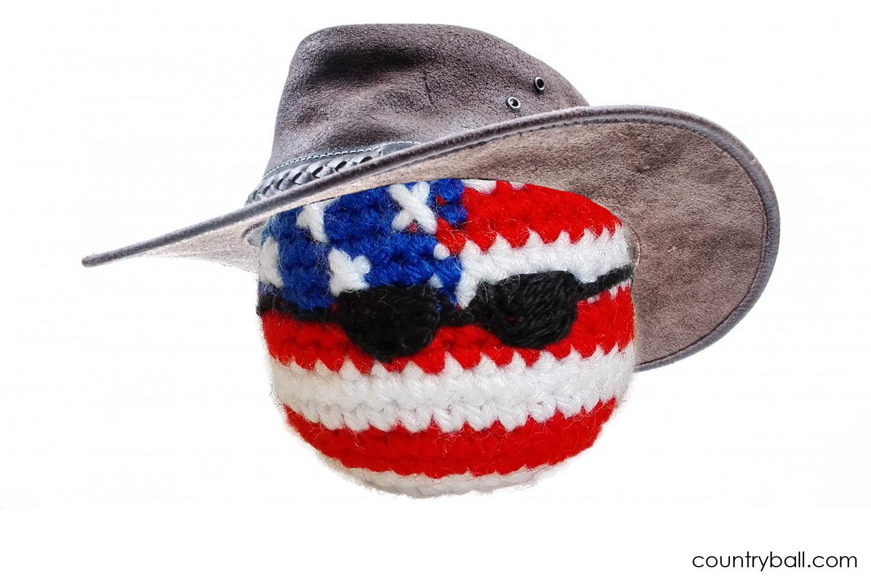 An USABall Cowboy