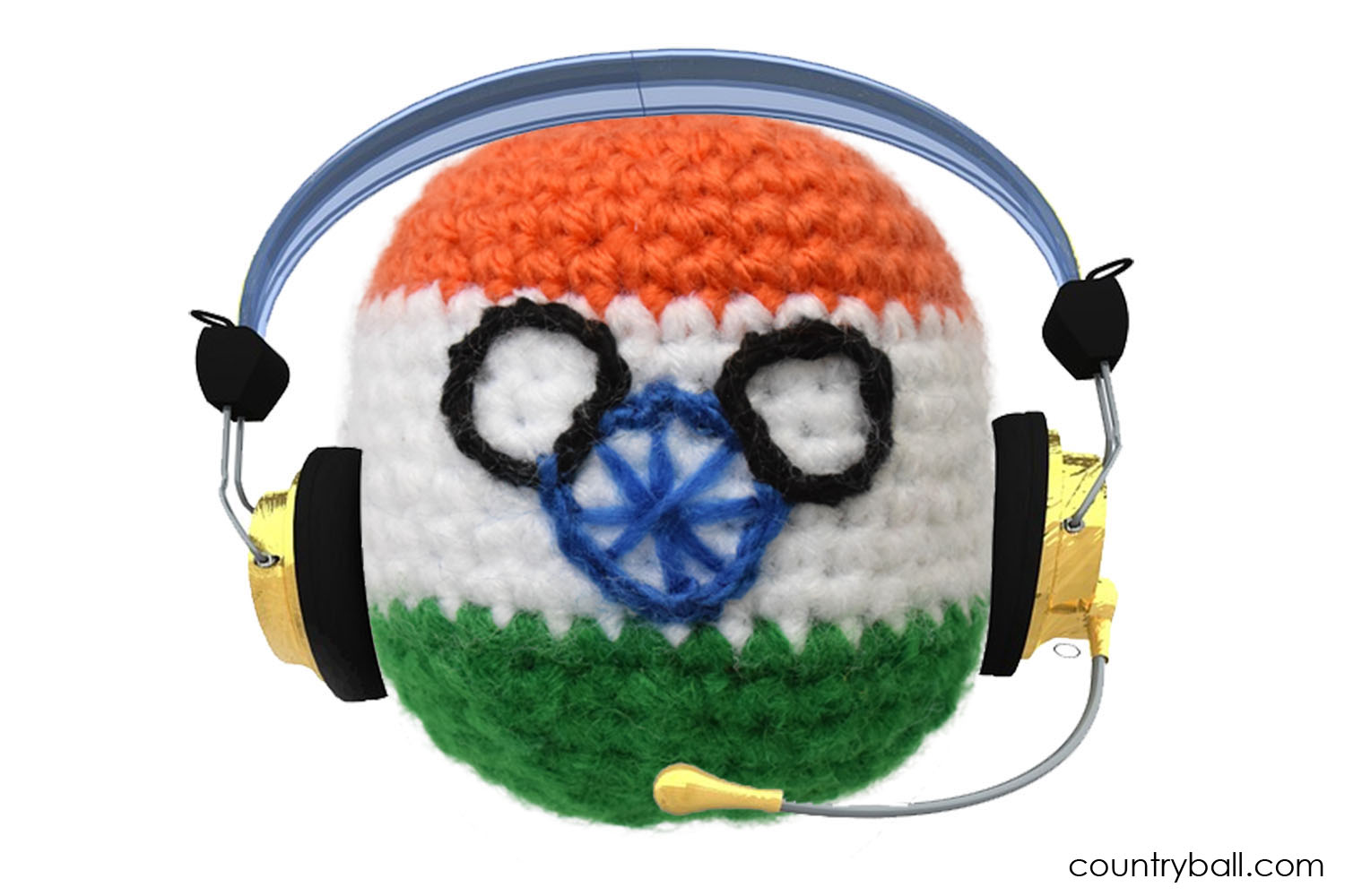 Indiaball working in a Call Center